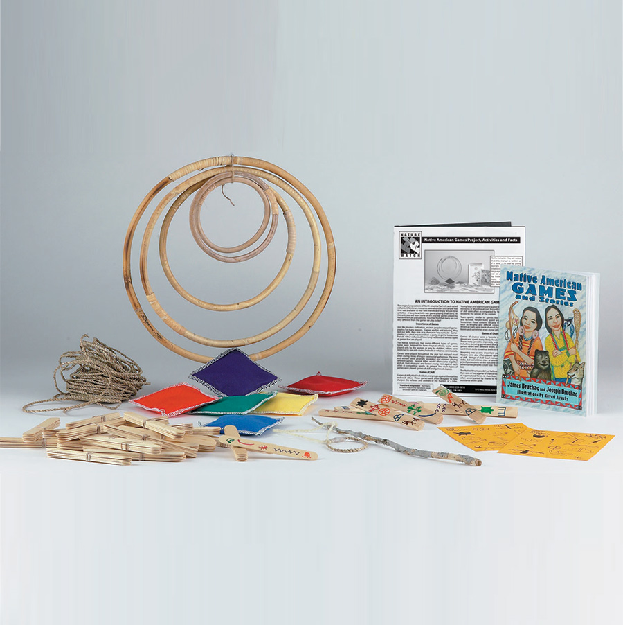 Native American Games Activity Kit
