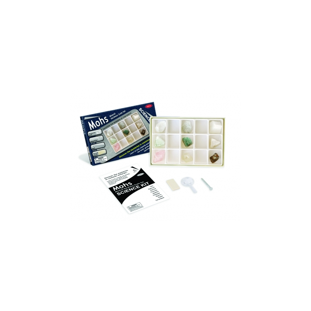 Mineral Hardness Scale Kit