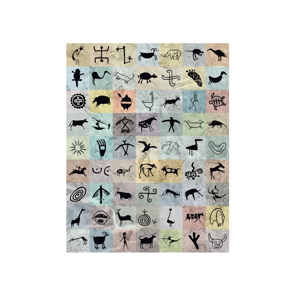 Magnetic Petroglyphs (310k) :: Nature Watch | Nature Craft Projects ...