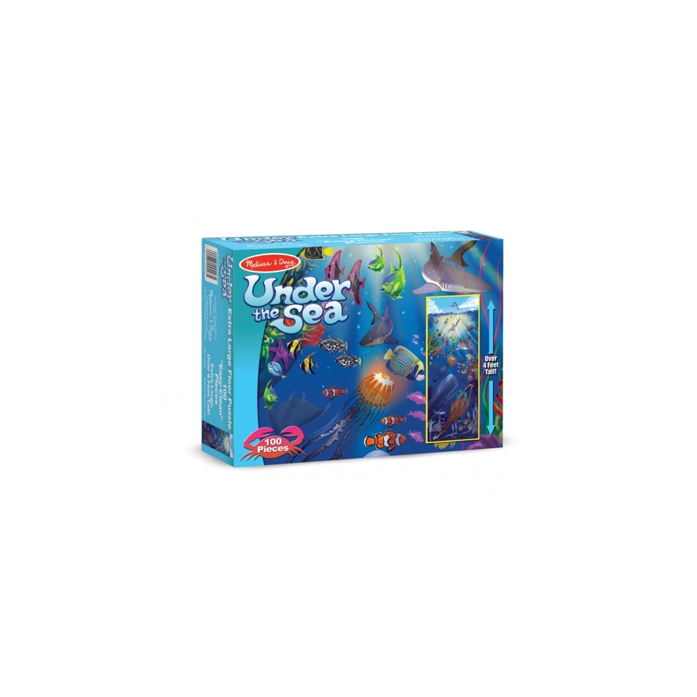 Under the sea giant floor puzzle ocean puzzle for 100 piece floor puzzles
