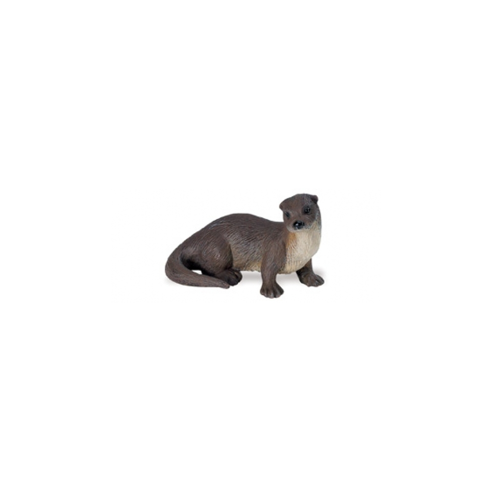 Miniature River Otter Replica Figurine