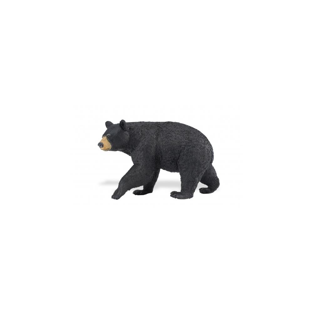 Miniature Black Bear Replica Figurine