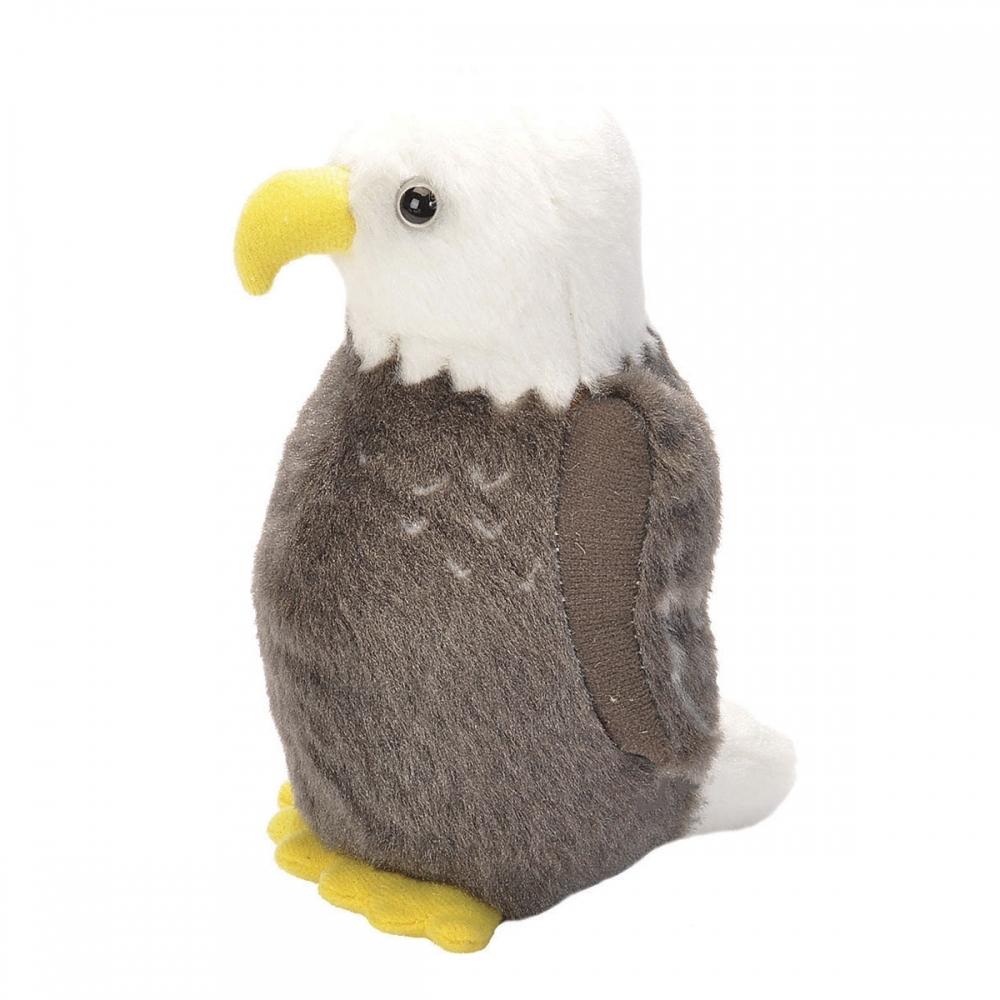 Bald Eagle Audubon Stuffed Animal With Bird Song Stuffed Animal Bird