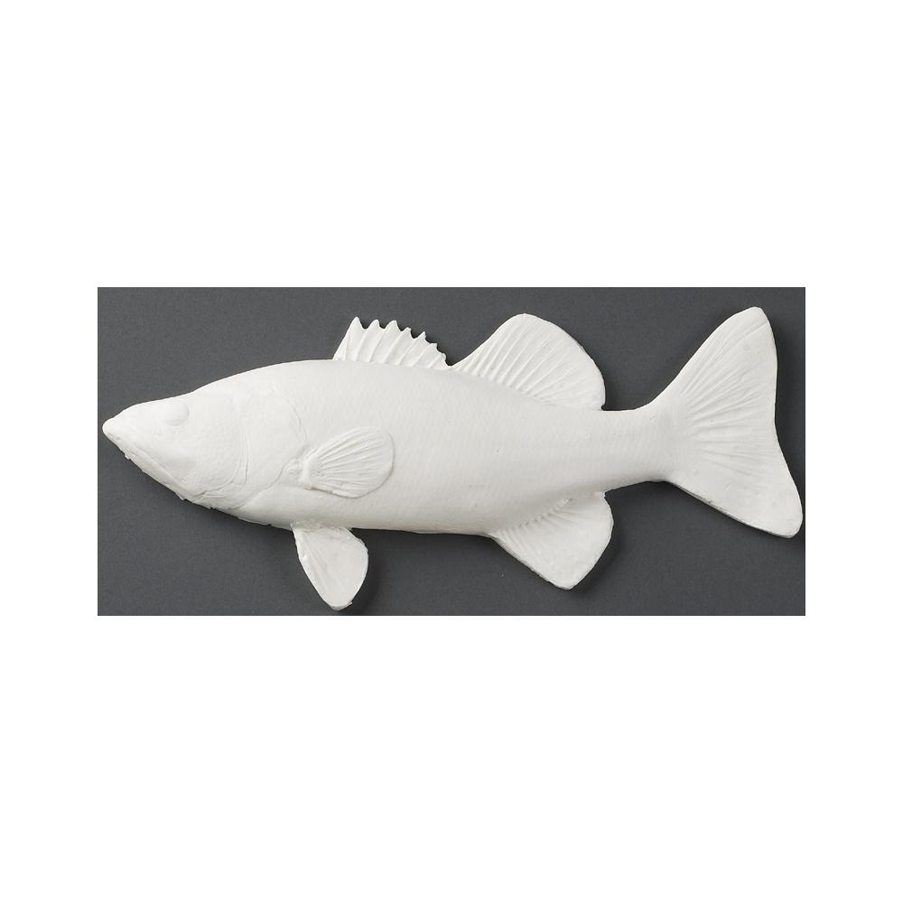 Largemouth bass fish print kit fish paint kit for Bass fishing kit