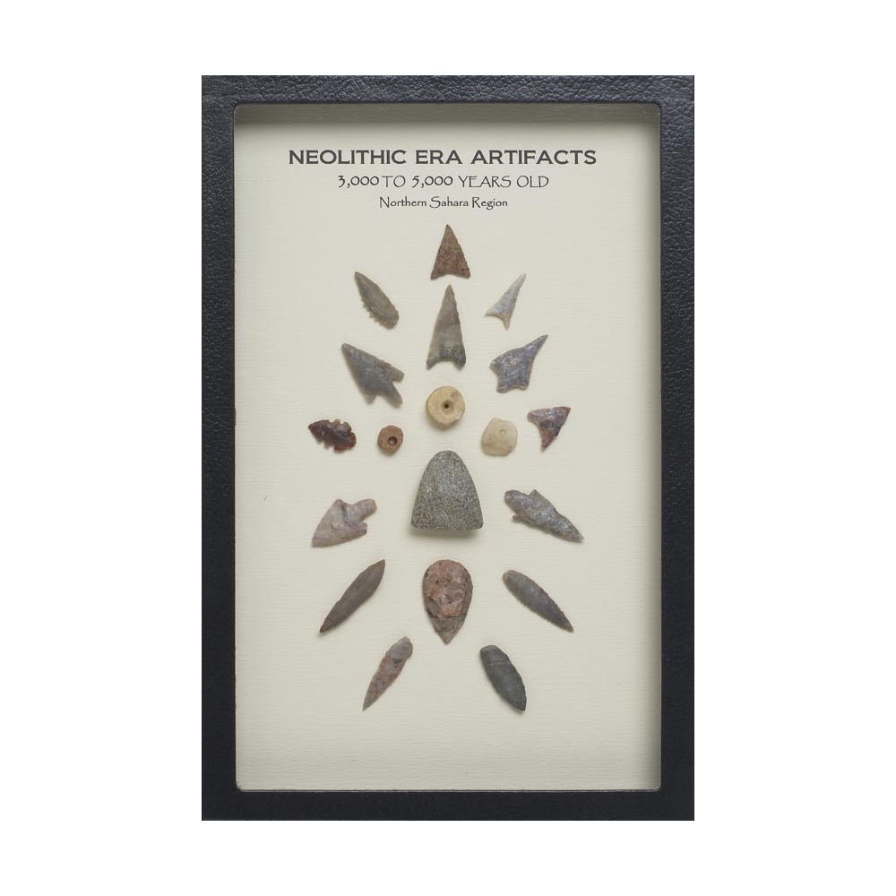 Neolithic Artifacts Display