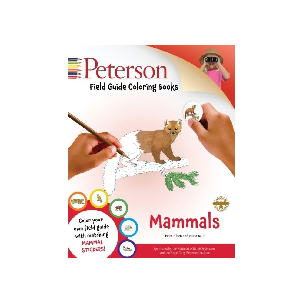 Mammals Field Guide Coloring Book