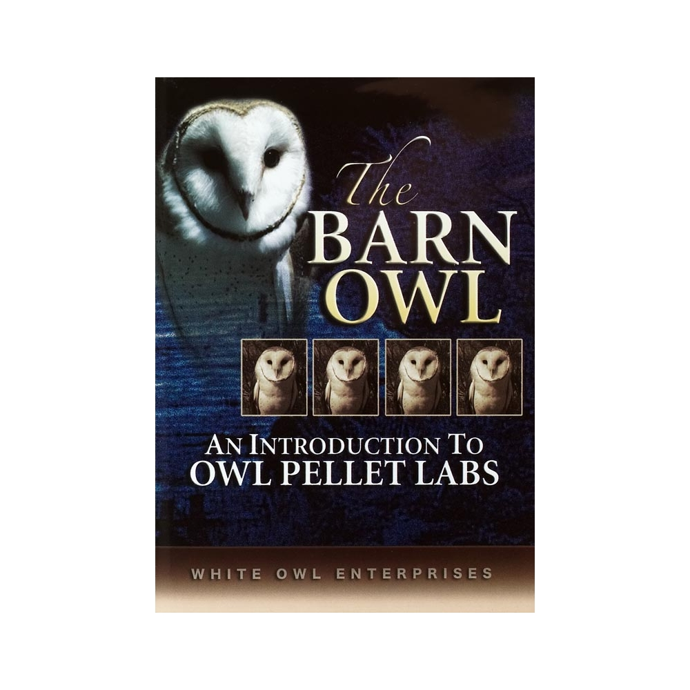 Barn Owl & Owl Pellet Dissection DVD: Barn Owl DVD