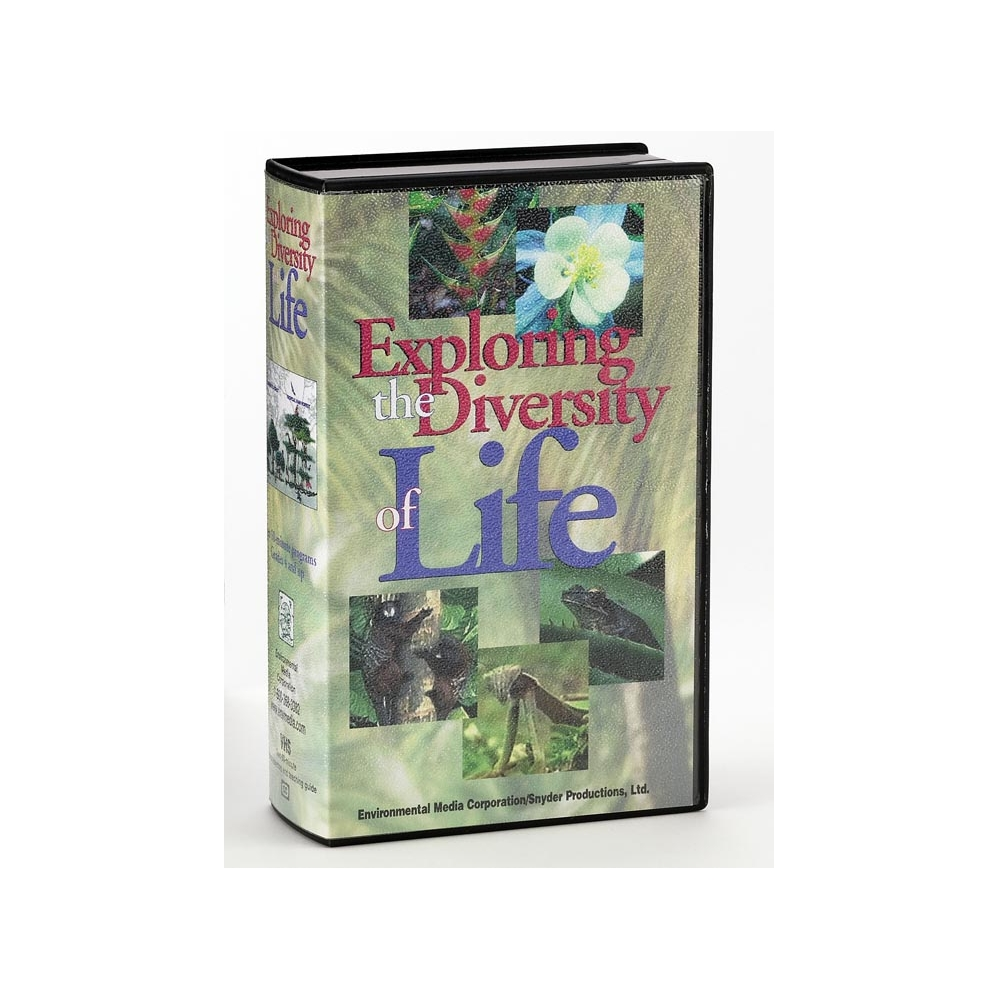 Exploring the Diversity of Life VHS Video Set (2 tapes)