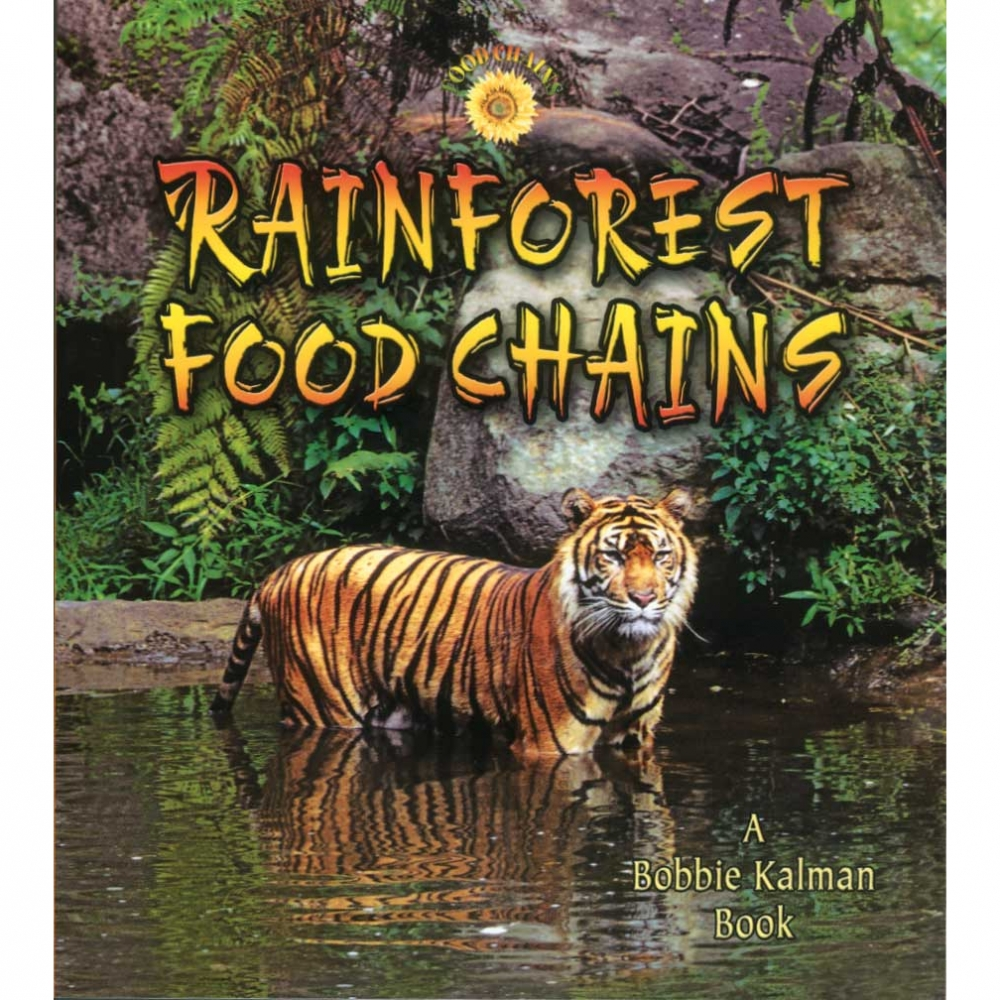 Rainforest Food Chains - Food Chain Book Series