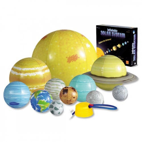 inflatable projection with planets-#43