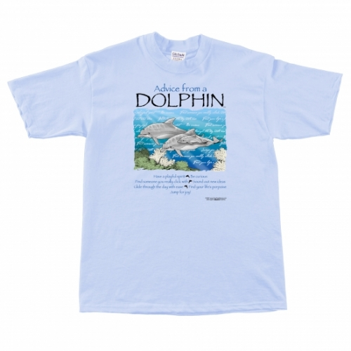 Advice from a Dolphin T-Shirt