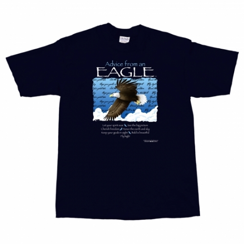 Advice from an Eagle T-Shirt