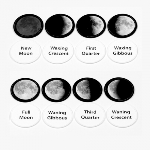 Moon Phase Memory Game Activity Kit