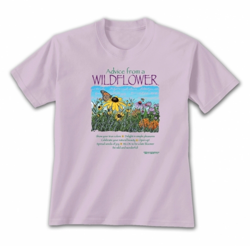 Advice from a Wildflower T-Shirt
