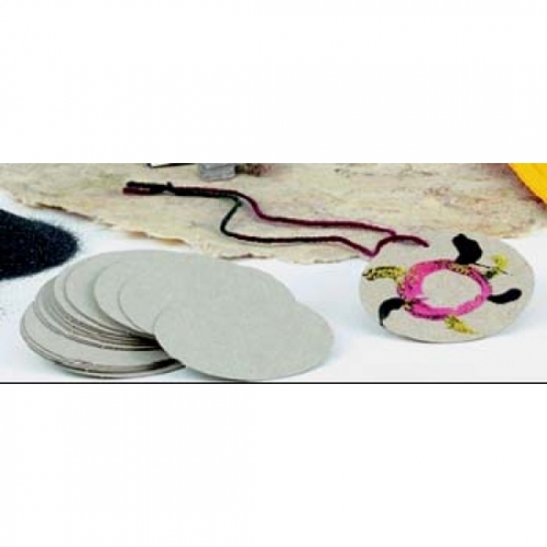 Chipboard Medallions (Pack of 25)