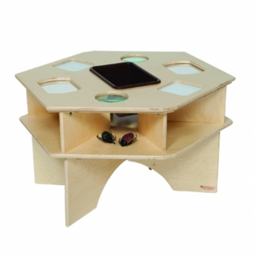 Deluxe Science Table with Brown Tub