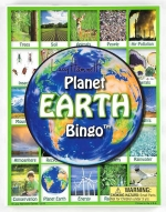 Earth Bingo Game