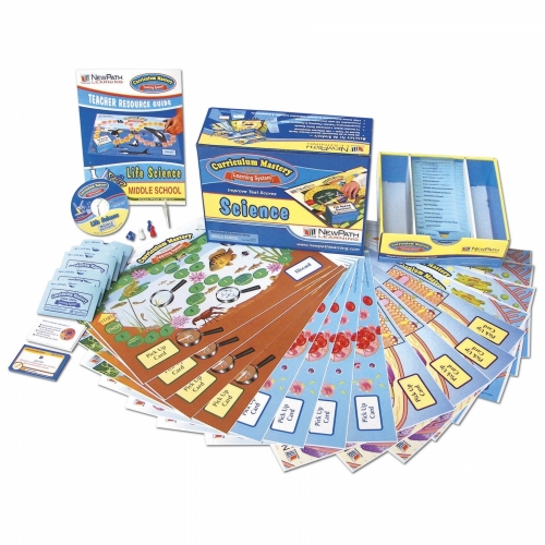 Life Science Middle School Curriculum Mastery Game