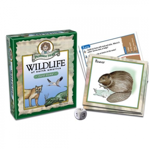 Wildlife of North America Card Game