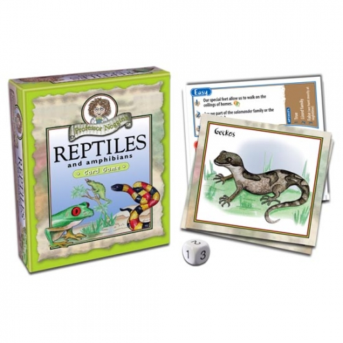 Reptiles and Amphibians Card Game