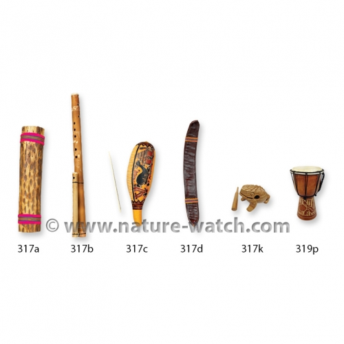 Multicultural, All Natural Musical Instruments