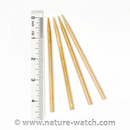 Wooden Probes (Pack of 4)