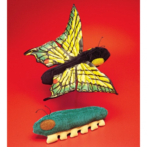 Caterpillar/Butterfly Reversible Plush