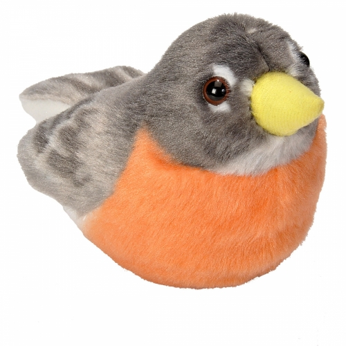 American Robin - Audubon Stuffed Animal (with Bird Song)