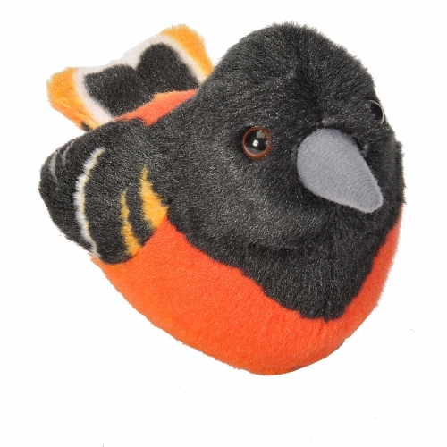 Baltimore Oriole - Audubon Stuffed Animal (with Bird Song)