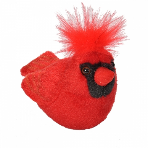 Northern Cardinal - Audubon Stuffed Animal (with Bird Song)