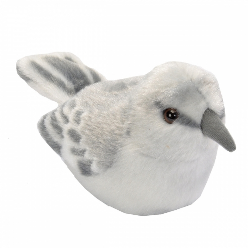 Northern Mockingbird - Audubon Stuffed Animal (with Bird Song)