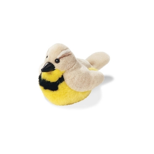 Western Meadowlark - Audubon Stuffed Animal with Bird Song (OLD VERSION)