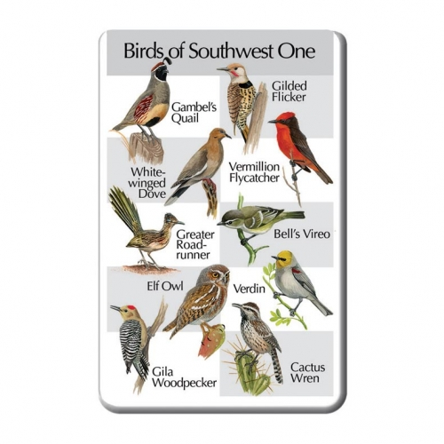 Birds of the Southwest One SongCard