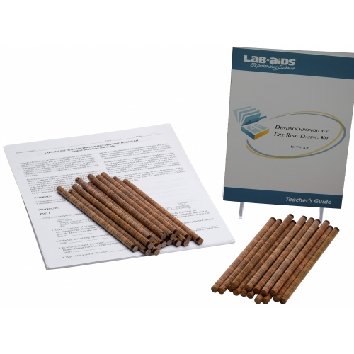 Dendrochronology: Tree Ring Dating Kit