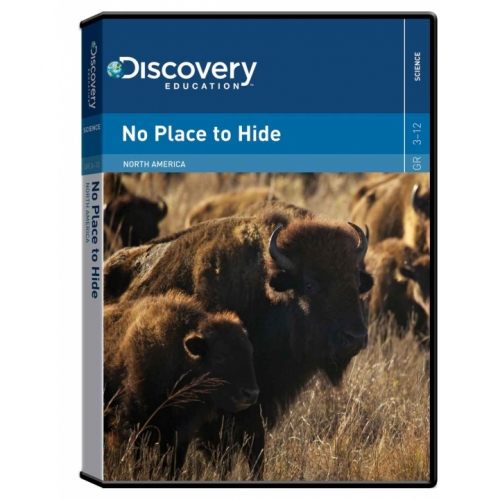 No Place to Hide: North American Animals DVD