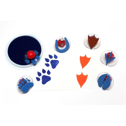 Giant Animal Paw Print Stampers
