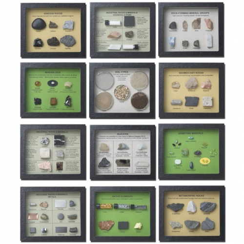 Earth Science: An Introduction to Geology Display Set