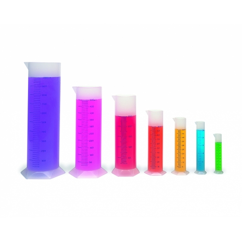 Graduated Cylinder Set of 7 (Plastic)