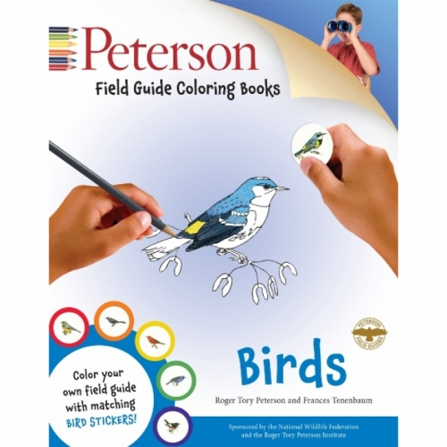 Birds Field Guide Coloring Book
