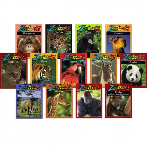 Exotic Animals Zoobooks