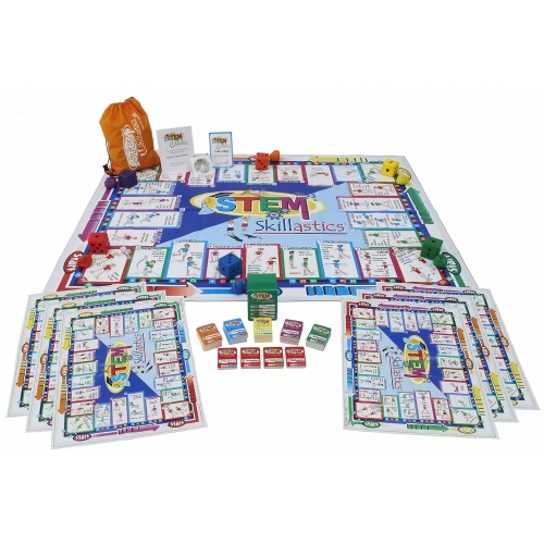 STEM Skillastics® Physical Fitness Science Game (Group Set)