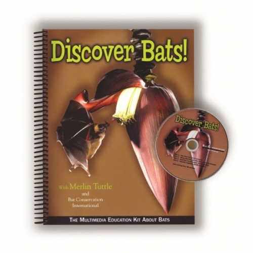 Discover Bats Educator's Kit (Book and DVD)
