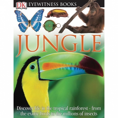Jungle: Eyewitness Book