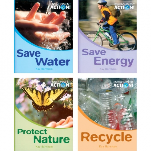 Environment Action Book Set