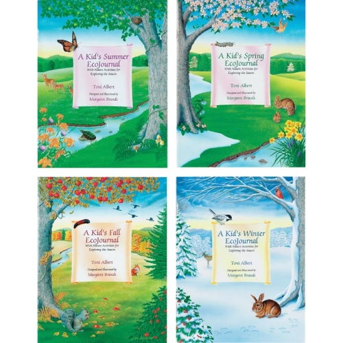 Kid's EcoJournals Book Set (4 books)