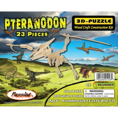 Pteranodon 3D Wooden Puzzle