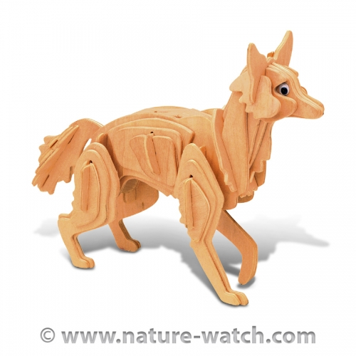 Coyote 3D Wood Puzzle