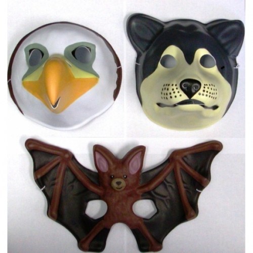 Animal Foam Masks