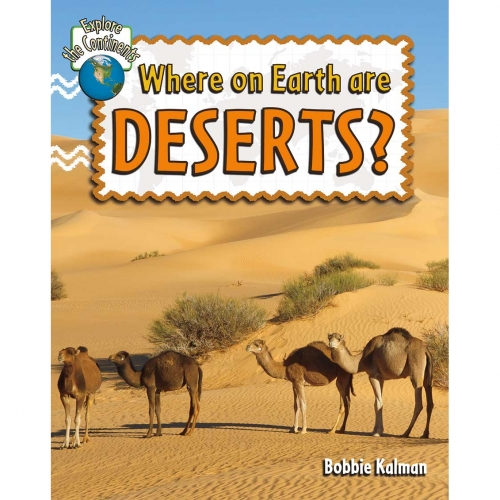 Where on Earth are Deserts? Book