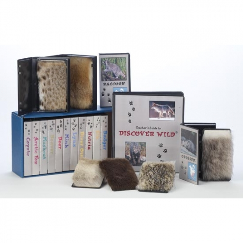 15 Fur Sample Set with Instructional Materials